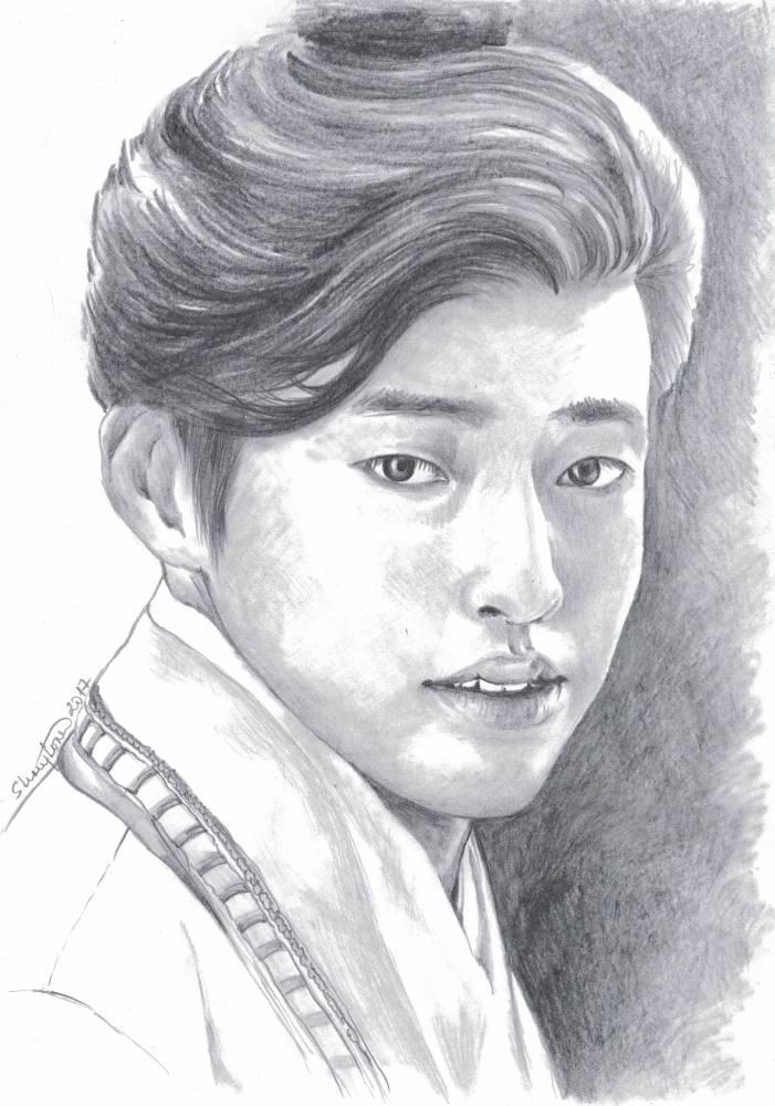 Kang Ha-Neul by ZiaCz